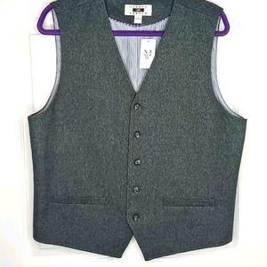 Joseph Abboud Gray Vest - Large
